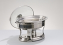 STAINLESS 4 QUART OVAL CHAFER