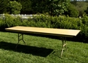 8' BANQUET TABLE $8.50 each