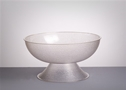 LUCITE PUNCH BOWL